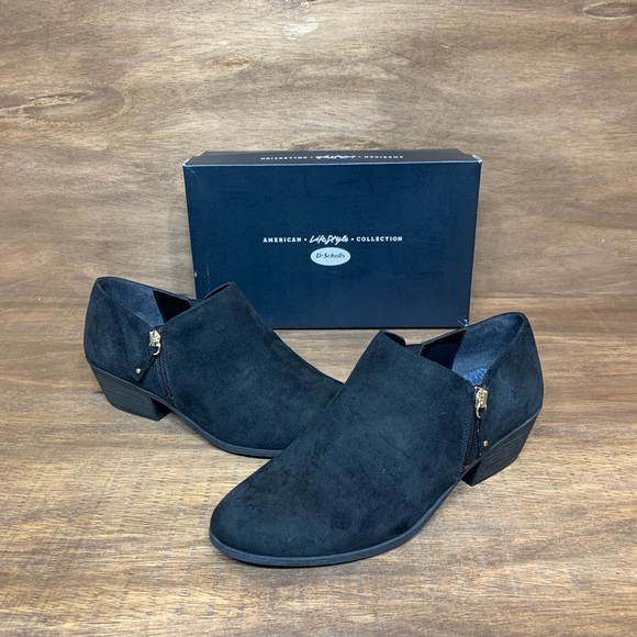 NWOT Woman's Dr Scholl's Ankle Brief Booties Sz10